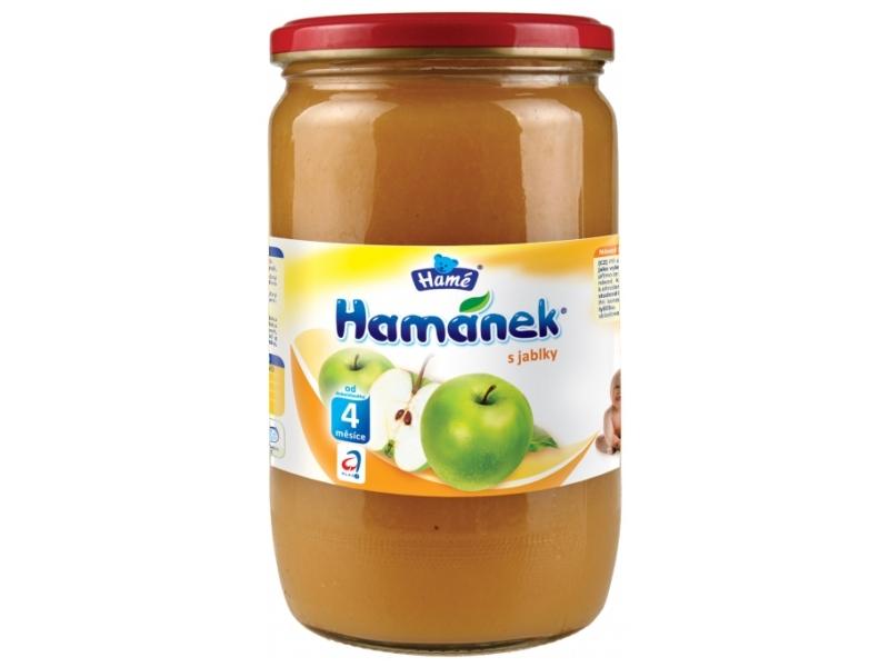 Hamánek Kojenecká výživa s jablky 710g