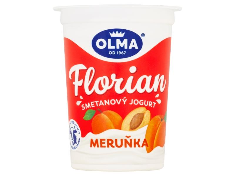 Olma Florian Smetanový jogurt meruňka 150g