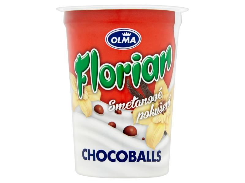 Olma Florian Smetanový jogurt chocoballs 150g