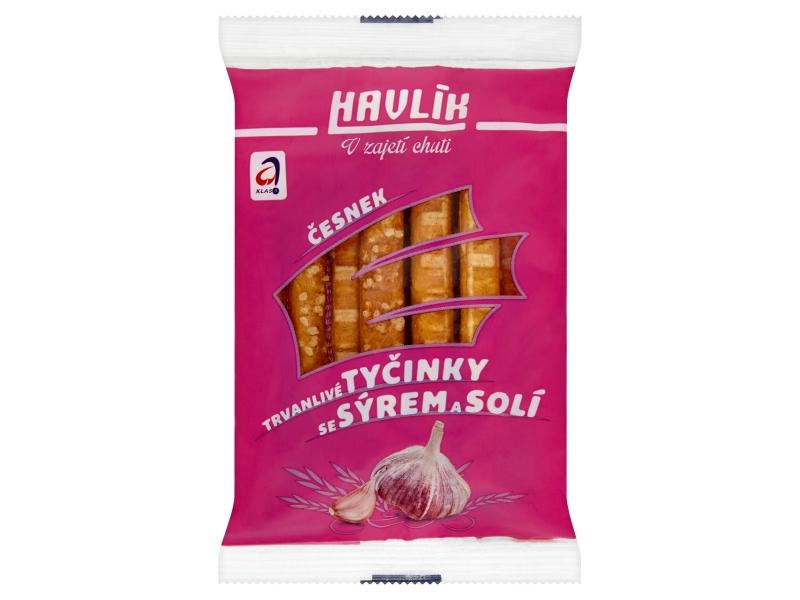 Havlík Česnek trvanlivé tyčinky se sýrem a solí 90g