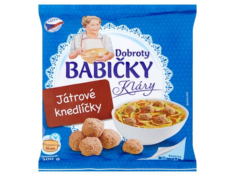 Dobroty Babičky Kláry Játrové knedlíčky mraž. 300g