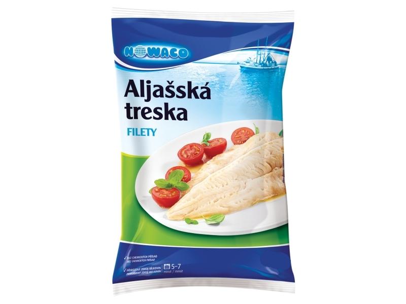 Nowaco Treska aljašská filety mraž. 1kg