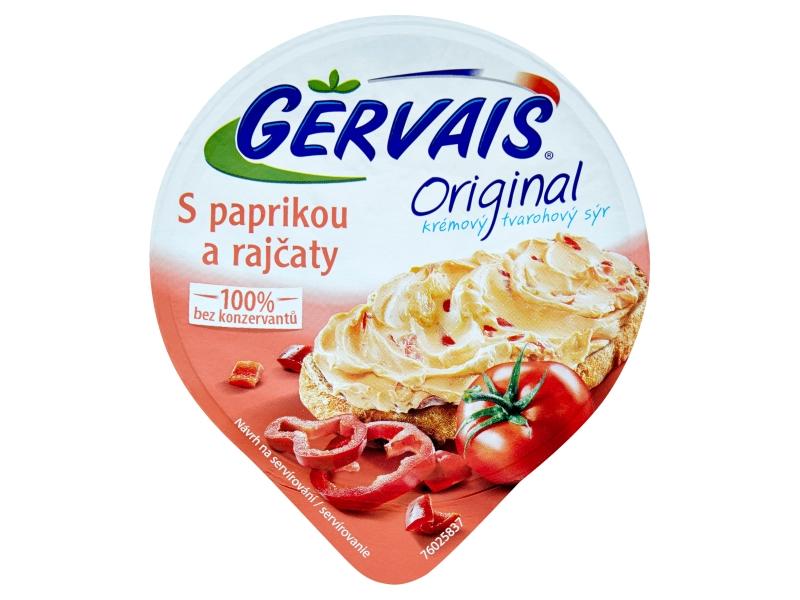 Gervais Original Sýr s paprikou a rajčaty 80g