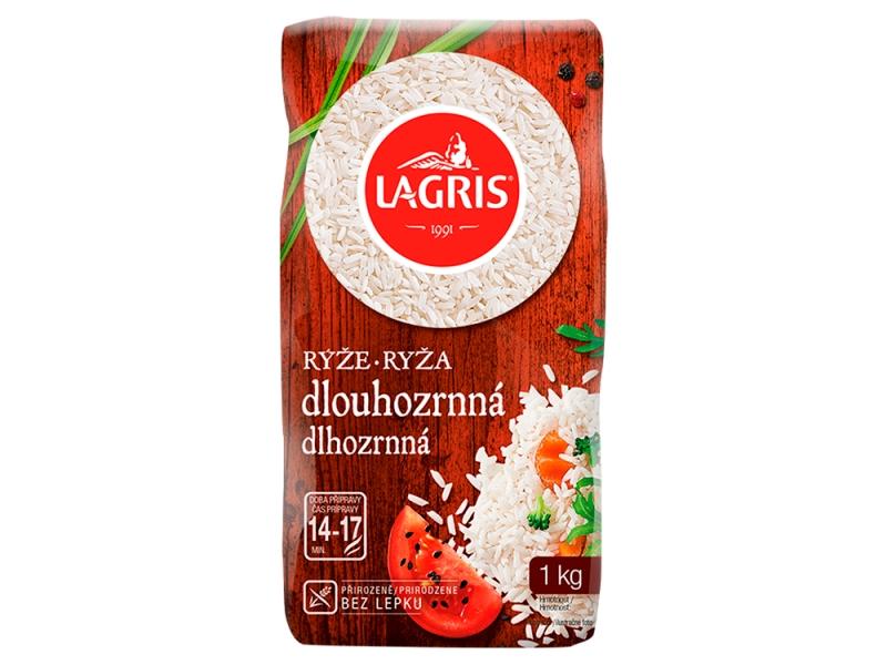 Lagris Rýže dlouhozrnná loupaná 1kg