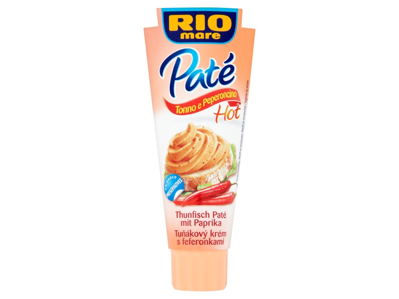 Rio Mare Paté Tuňákový krém s feferonkami 100g