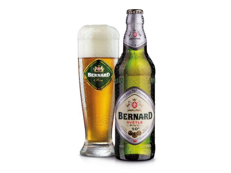 Bernard Desítka Světlé výčepní pivo 0,5l