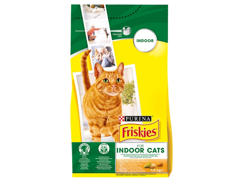 FRISKIES for Indoor Cats 1,5kg