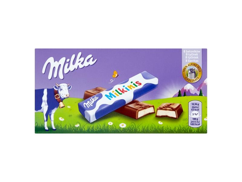 Milka Milkinis čokoládky 87,5g
