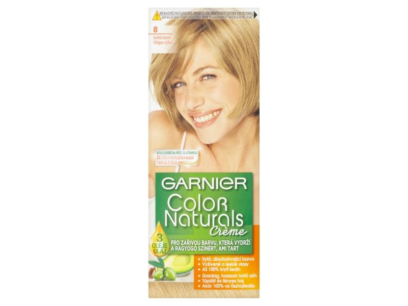 Garnier Color Naturals Crème Světlá blond 8