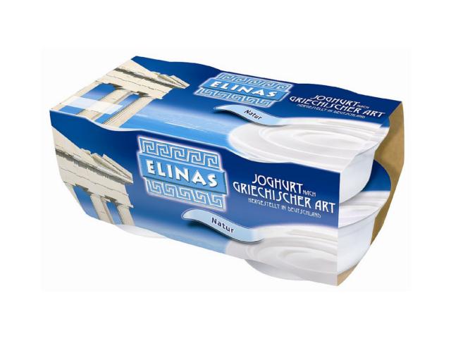Elinas Jogurt řeckého typu bílý, 4x150g