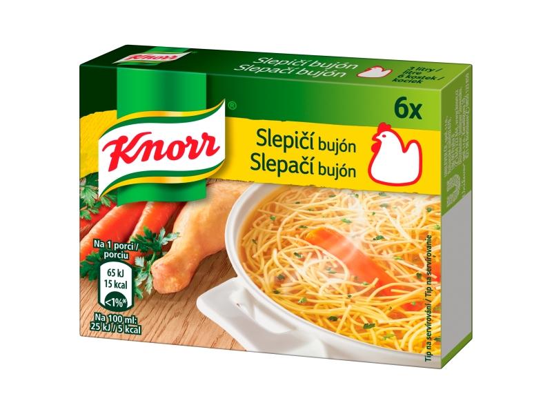 Knorr Slepičí bujón 6x10g