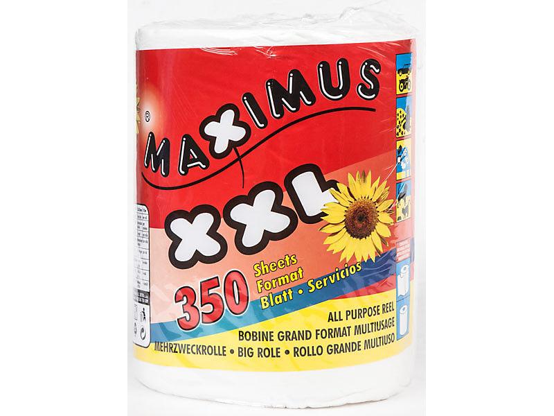 Maximus Utěrky papírové utěrky 2vrstvé 350útržků 1ks