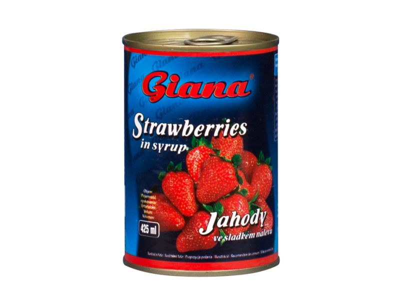 Giana Jahody ve sladkém nálevu 425ml