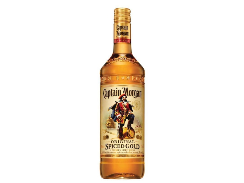 Captain Morgan Spiced Gold Rum 35%, 1l