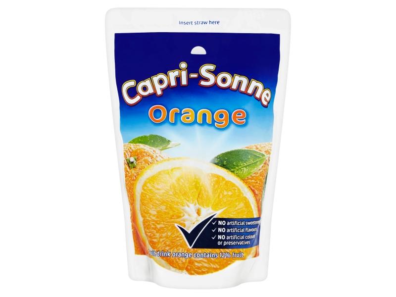 Capri Sonne Orange ovocný nápoj 200ml
