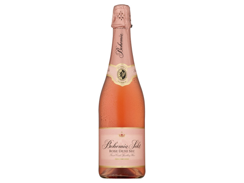 Bohemia Sekt rose demi sec 750ml