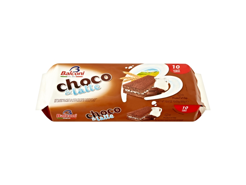 Balconi Dezert Choco & Latte 10x30g