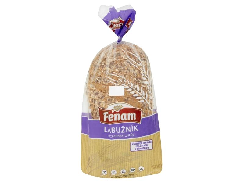 Penam Chléb labužník balený krájený 500g