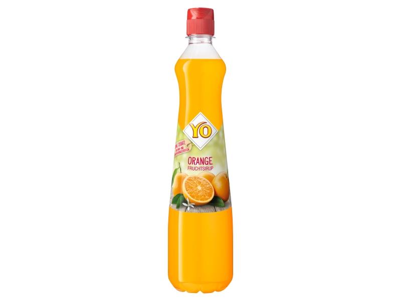 YO Ovocný sirup z pomeranče 0,7l