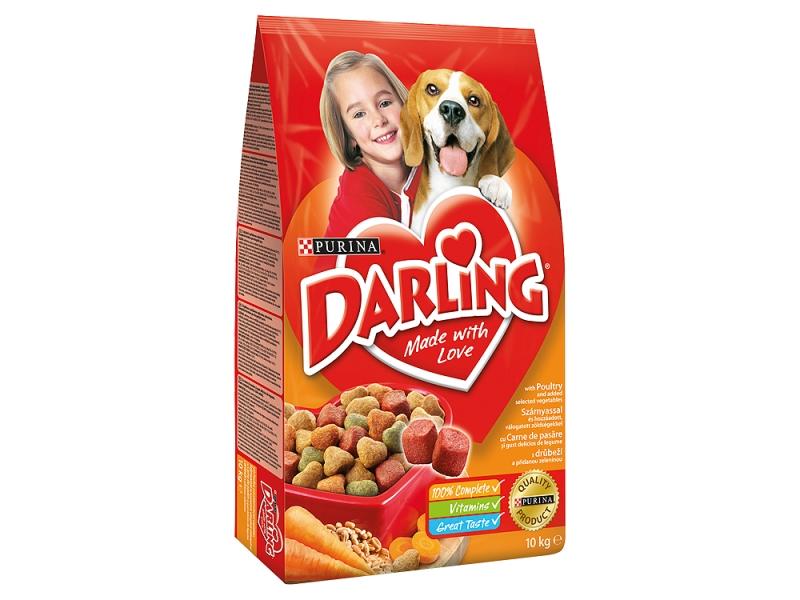 Purina Darling Granule s drůbežím a zeleninou 10kg