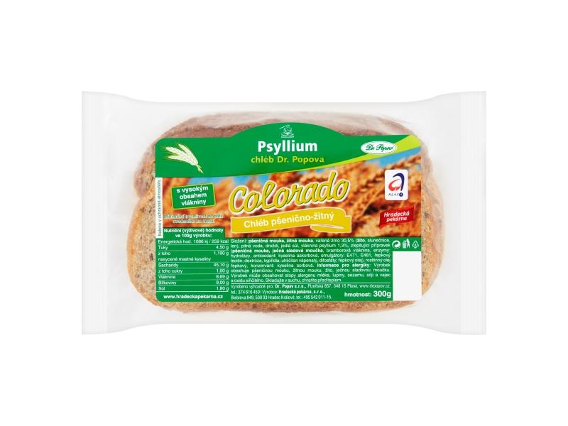 Dr. Popov Colorado Chléb balený krájený 300g