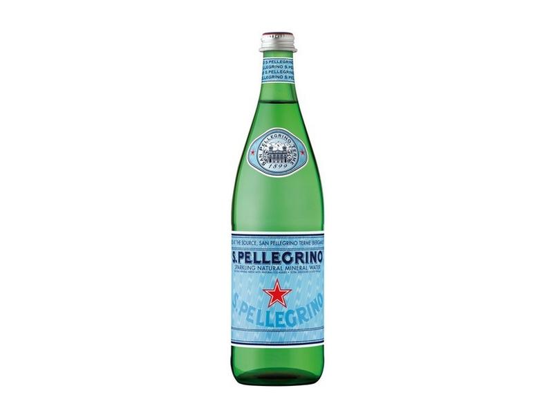 San Pellegrino minerální voda perlivá 750ml, sklo