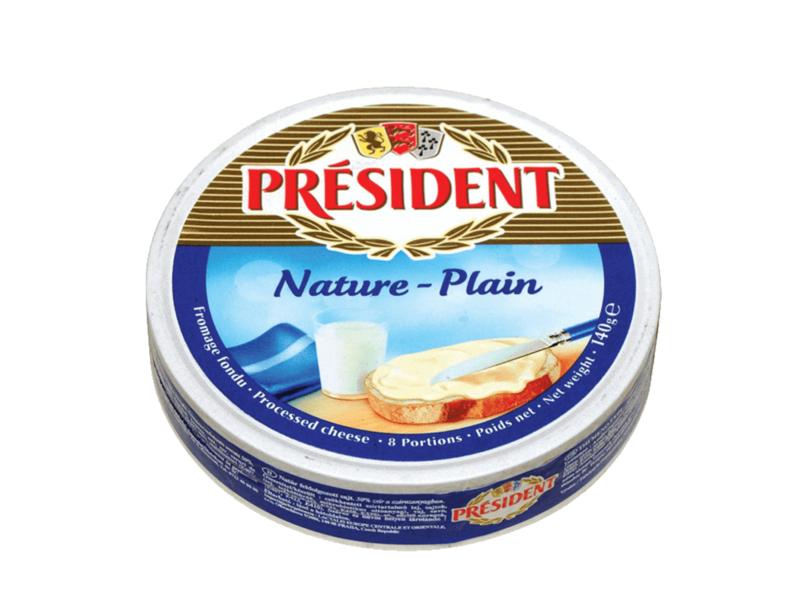 Président Nature - Plain Tavený sýr 140g