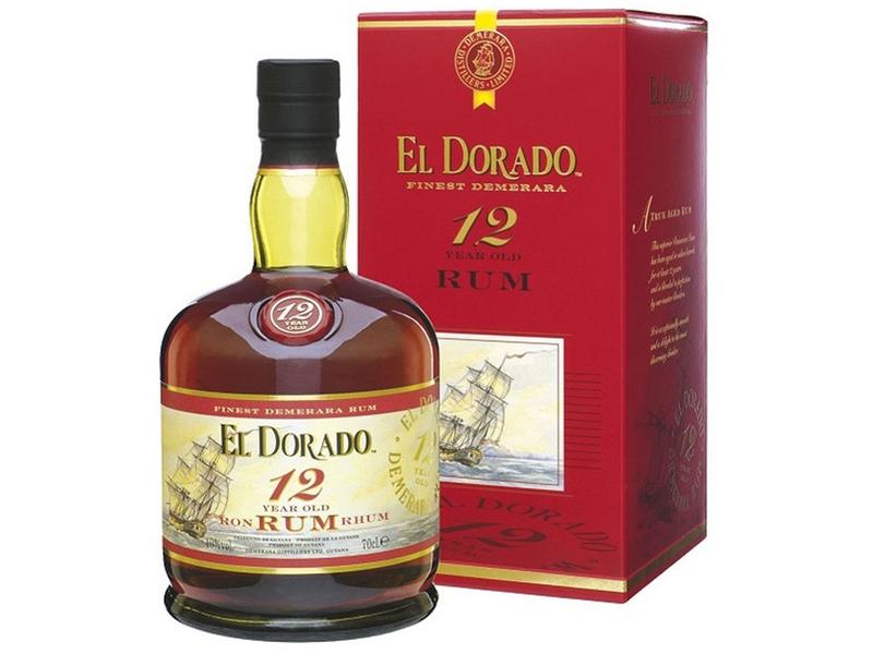 El Dorado 12yo Rum 40% 700ml, krabice