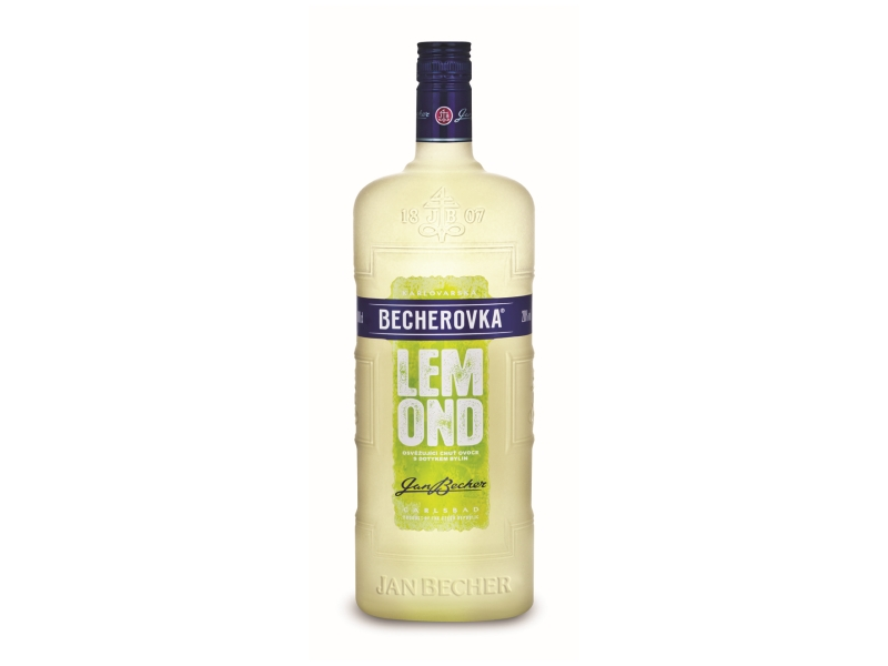 Becherovka Lemond Likér 20%, 1l