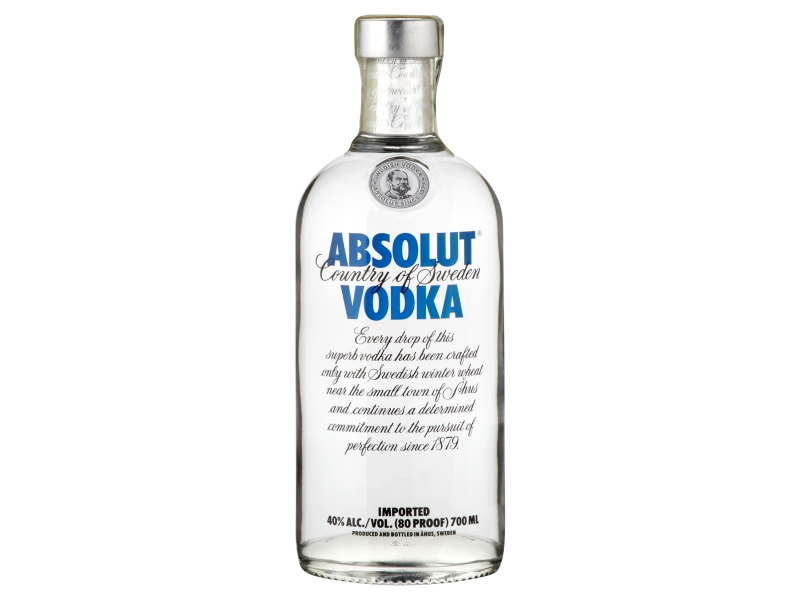 Absolut vodka 40% 700ml