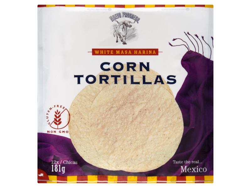 "Nuevo Progreso Tortilla Corn 6"" 12x15g"