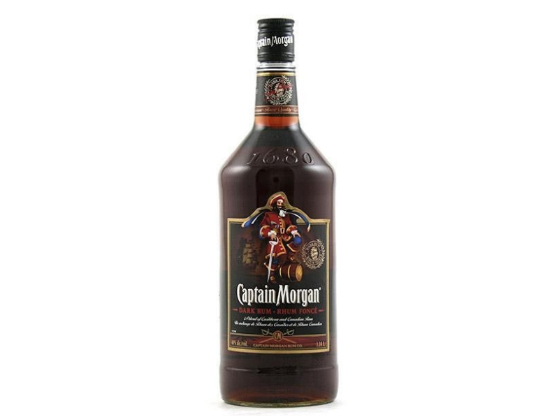 Captain Morgan Dark Rum 40%, 1l