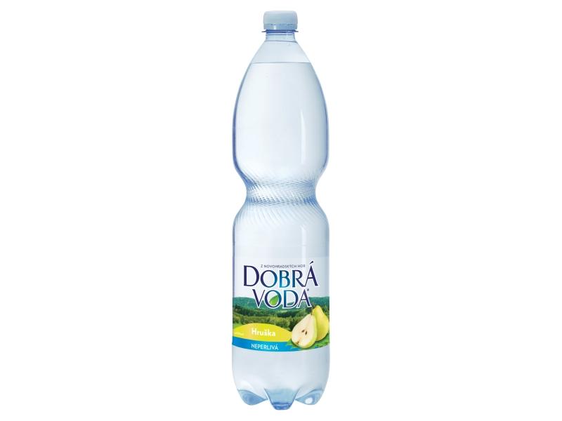 Dobrá voda Hruška neperlivá 1,5l