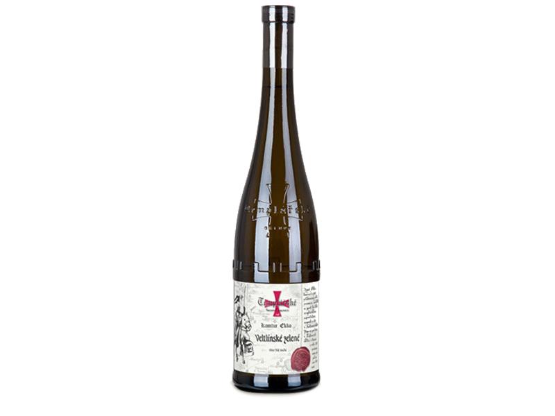 Templářské Sklepy Čejkovice Veltlínské zelené víno suché 0,75l