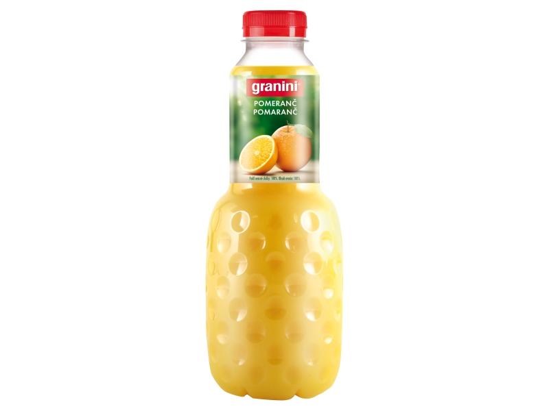 Granini Pomeranč s dužinou 1l