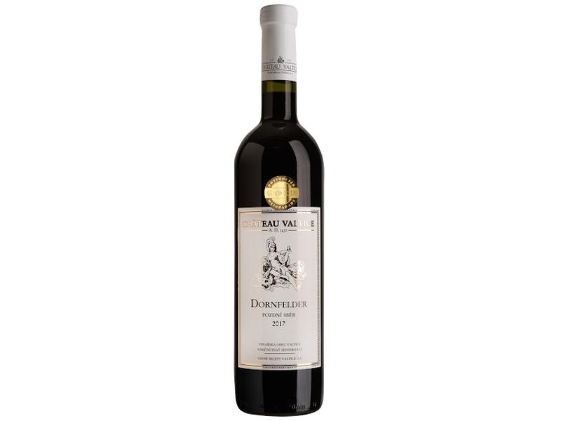 Château Valtice Dornfelder pozdní sběr polosuché červené víno 0.75l