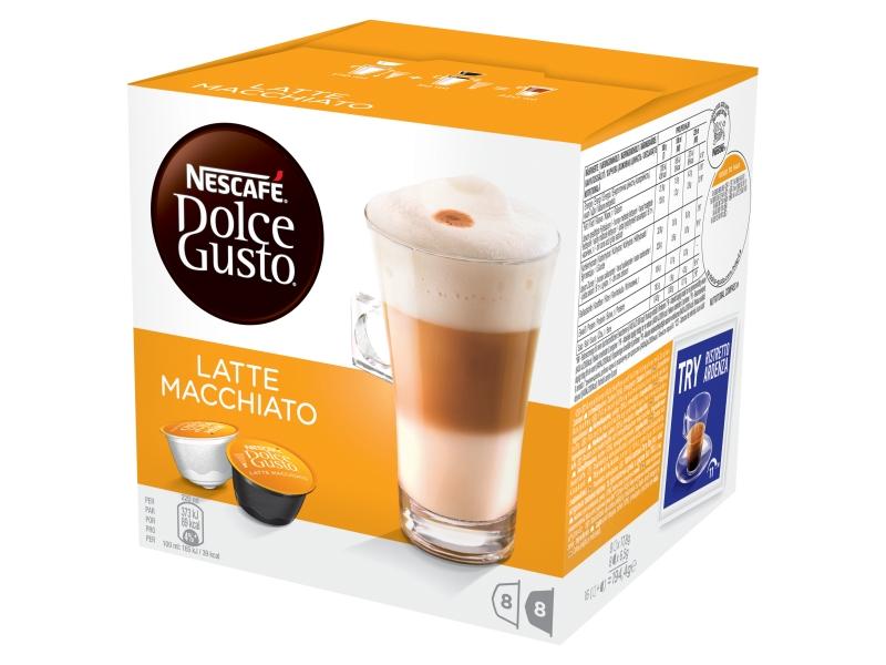 NESCAFÉ DOLCE GUSTO Latte Macchiato kapsle 8x17,8g+8x6,5g