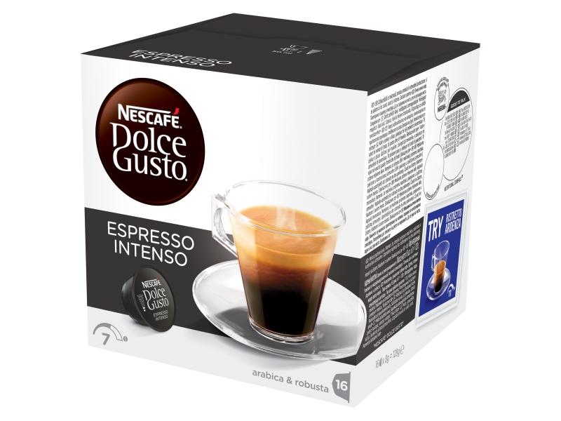 NESCAFÉ DOLCE GUSTO Espresso Intenso kapsle 16x8g