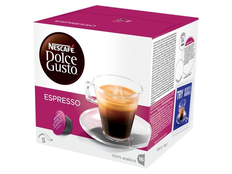 NESCAFÉ DOLCE GUSTO Espresso kapsle 16x6g