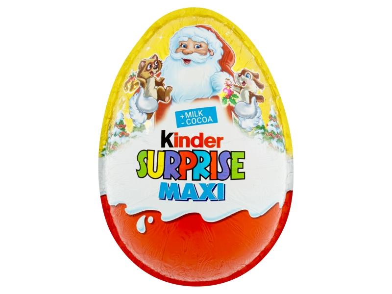 Kinder Surprise Maxi překvapení - mléčná čokoláda 100g