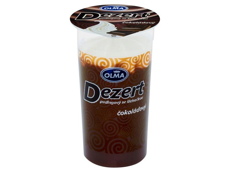 Olma Dezert Pudingový se šlehačkou čokoládový 200g