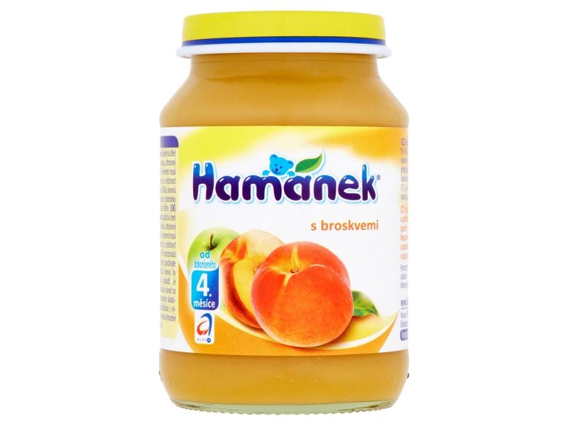 Hamánek S broskvemi 190g