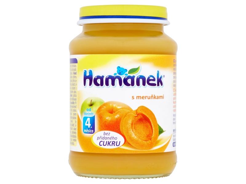 Hamánek S meruňkami bez přidaného cukru 180g