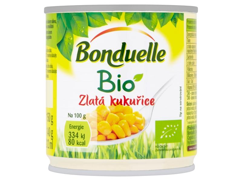 Bonduelle Zlatá kukuřice BIO 212ml