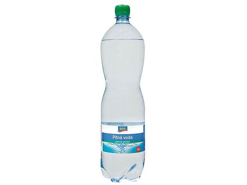 ARO Voda pramenitá jemně perlivá 1,5l