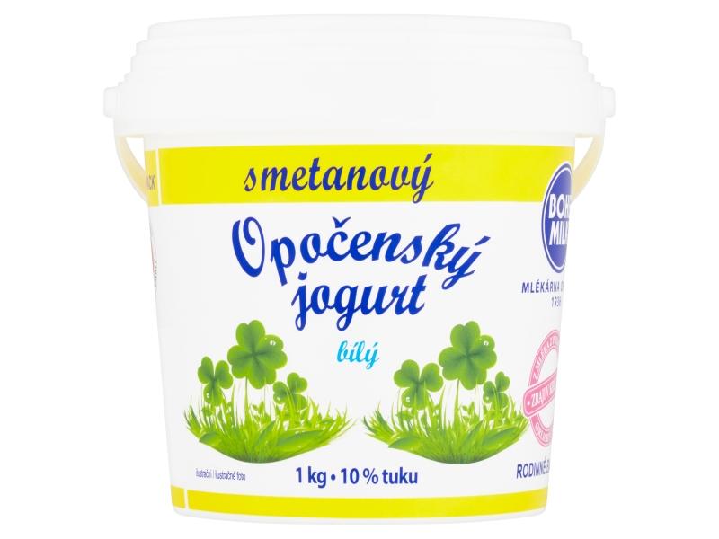 Bohemilk Opočenský jogurt bílý smetanový kbelík 1kg