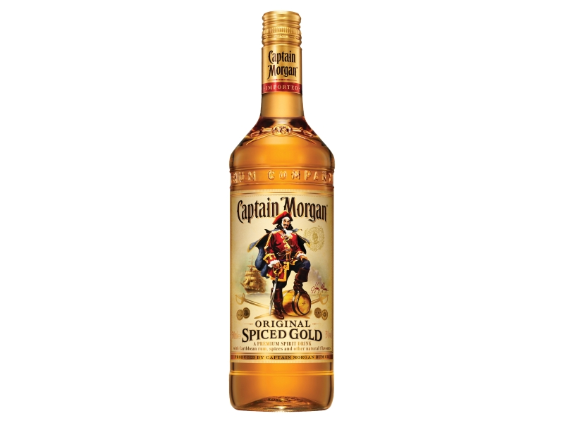 Captain Morgan Original Spiced Gold Rum 35% 500ml