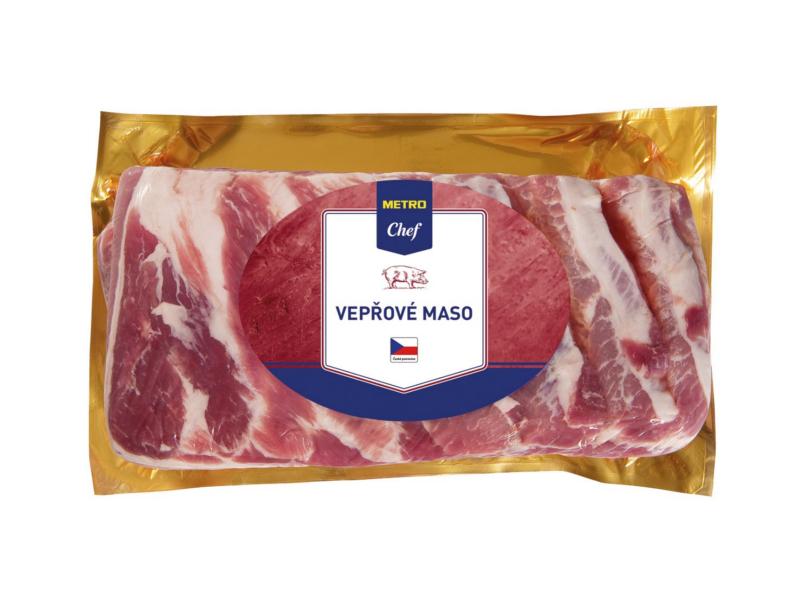 Metro Chef Vepřový bok bez kosti s kůží cca 2,5kg