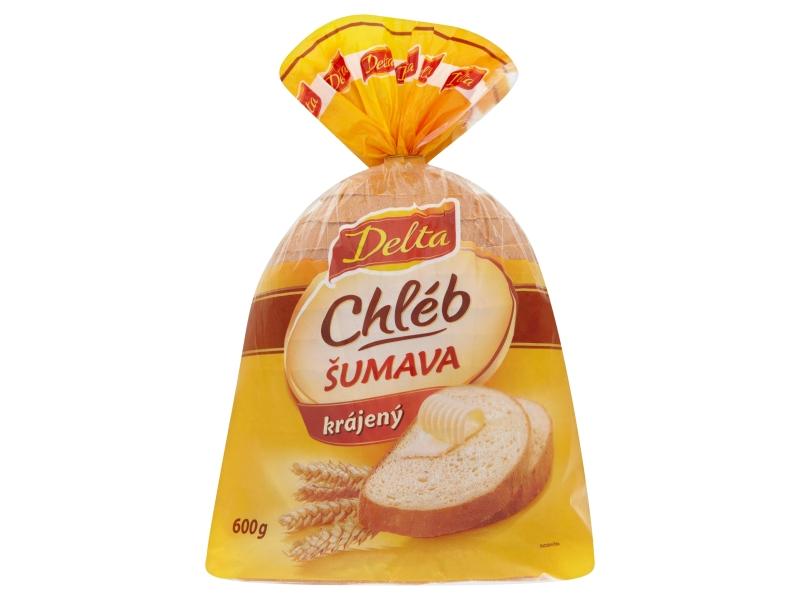 Delta Chléb Šumava balený krájený 600g