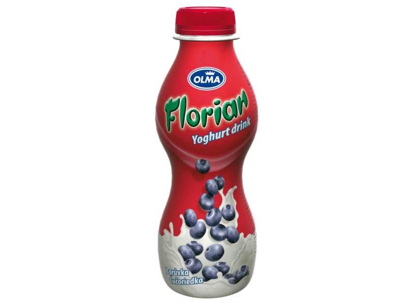 Olma Florian Jogurtový drink borůvkový 400g